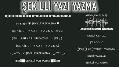 Photo of Şekilli Yazı – Instagram Şekilli Yazı Yazma Sitesi
