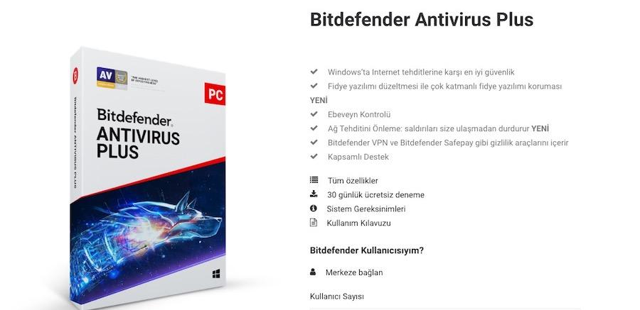 bitdefender antivirüs