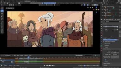 blender animasyon programı