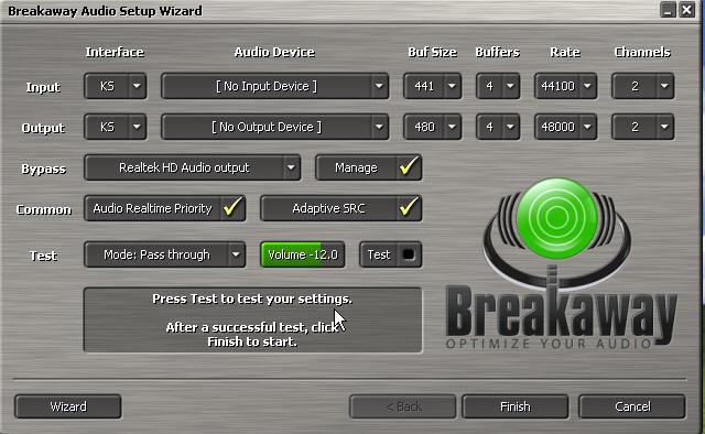 breakaway edit audio